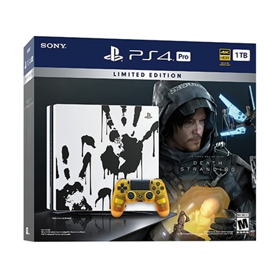 Picture of PlayStation 4 Pro 1TB Limited Edition + Death Stranding