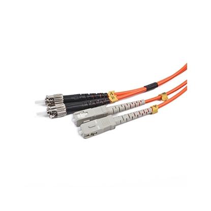 Slika od Fibre optic kabl GEMBIRD CFO-STSC-OM2-2M Duplex multimode fibre optic cable, 2 m, bulk packing
