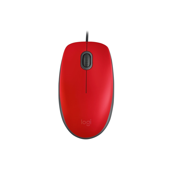 Picture of Miš LOGITECH M110 silent Red, 910-005489