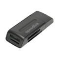 Picture of Card-reader SPEEDLINK SNAPPY PORTABLE USB Card Reader, black, SL-150003-BK