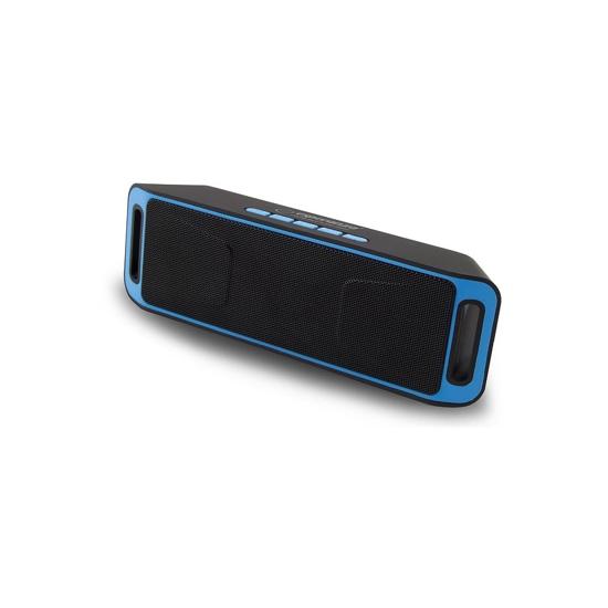 Picture of Zvučnik BLUETOOTH ESPERANZA FOLK, FM radio, microSD, USB, black blue, EP126KB