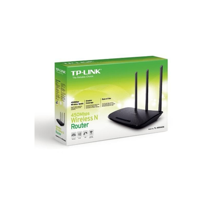 Slika od ROUTER TP-Link TL-WR940N Wireless N 450Mbps3x 5dBi Fixed Omni Directional Antennas, 4x10/100Mbps LAN