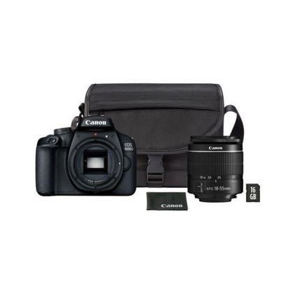 Slika od Fotoaparat CANON EOS2000D + 18-55 IS+ Torbica SB130+16GB MicroSD  bundle