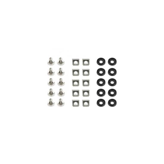 Picture of Set za montazu u rack GEMBIRD 19A-FSET-02 sarafi/matice/podloska, 50 komada