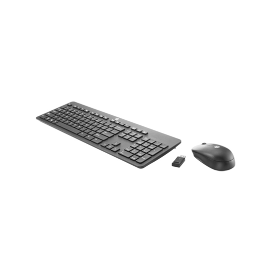 Picture of Tastatura i miš HP Slim Wireless KB and Mouse, black, T6L04AA
