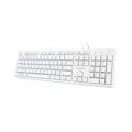 Picture of Tastaturas GEMBIRD Multimedia chocolate, KB-MCH-03-W USB, USA layout, white
