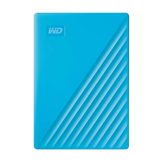 Picture of EXT.HDD 2TB, WDBYVG0020BBL-WESN BLUE My Passport 2TB, 2TB, USB 3.1 8 MB, 5.400 rpm, ,