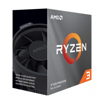 Slika od AMD RYZEN 3 3100 AM4 BOX 4 CPU cores,8 threads 3.6GHz,16MB L3,65W
