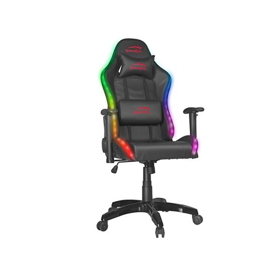 Picture of Stolica SPEEDLINK ZAPHYRE RGB Gaming Chair, black SL-660008-BK
