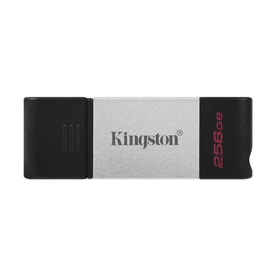 Picture of USB Memory stick Kingston 256GB, USB type-C  DT80/256GB
