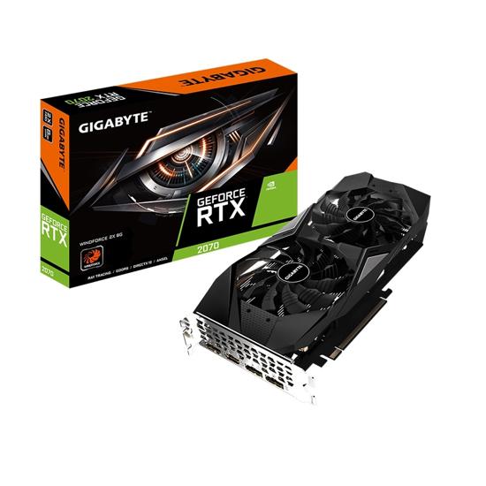 Picture of GIGABYTE VGA GV-N2070WF2-8GD nVidia GeForce RTX 2070 8GB GDDR6 256bit;HDMI,3xDP