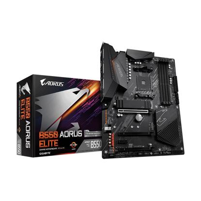 Slika od GIGABYTE MB B550 AORUS ELITE AMD B550;AM4;4xDDR4 HDMI,DP;RAID;ATX