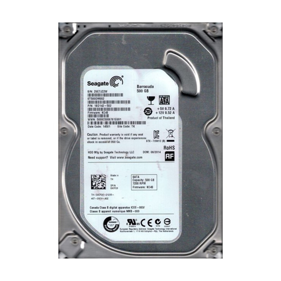 """Picture of HDD 500GB Seagate 3.5"""" 7200rpm 32MB ST500DM002-P PULL"""
