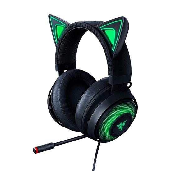 Picture of Slušalice Razer Kraken Kitty - Chroma USB Gaming Headset - Black - FRML RZ04-02980100-R3M1