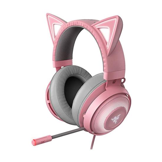 Picture of Slušalice Razer Kraken Kitty - Chroma USB Gaming Headset - Quartz - FRML RZ04-02980200-R3M1