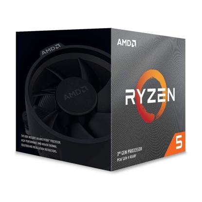Slika od AMD Ryzen 5 3600XT AM4 BOX 6 cores,12 threads 3.8GHz,32MB L3,95W