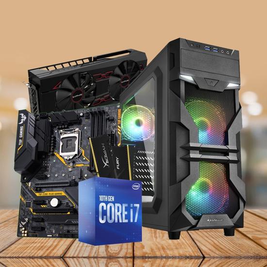 Picture of GNC GAMER LION - i710700,RX VEGA 56 8GB, Kingston DDR4 16GB 3200MHz Hyperx Fury, ASUS MB PRIME B460-PLUS