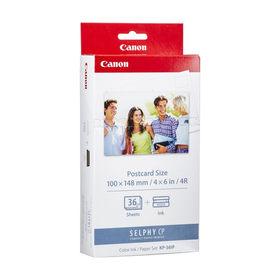 Picture of CANON foto-papir+ink 15x10cm, 36kom KP-36IP