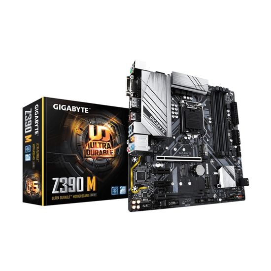 Picture of MB GIGABYTE MB Z390 M GAZ390M-00-G, 1151, DDR4, mATX