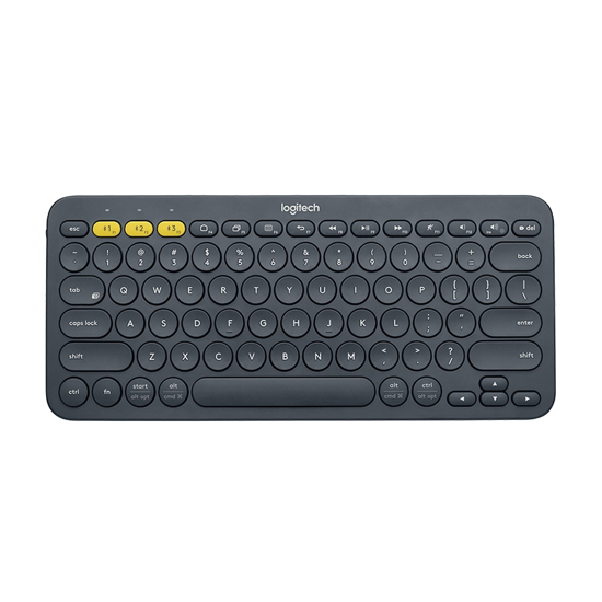 Picture of Tastatura LOGITECH K380 Multi-Device Bluetooth DARK GREY UK 920-007580