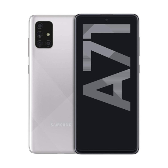 Picture of Mobitel Samsung Galaxy A71 SM-A715FZSUSEE Dual Sim Haze Crush Silver