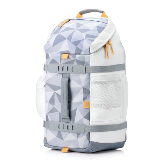 "Picture of HP ruksak do 15,6"", Odyssey Sport Backpack Facets White 5WK92AA"