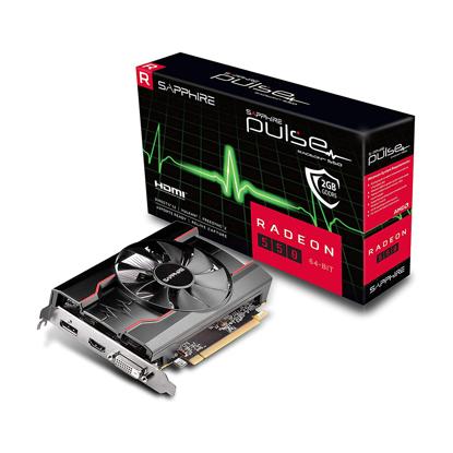 Slika od SAPPHIRE PULSE RADEON 550 2G GDDR5 HDMI/DVI-D/DP OC (64-BIT, UEFI) LITE 11268-21-20G