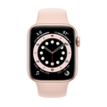 Picture of Apple Watch 6 44mm Gold Aluminum Case with Sport Band - Pink