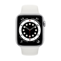 Picture of Apple Watch 6 44mm Silver Aluminum Case with Sport Band - White