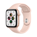 Picture of Apple Watch SE 44mm Gold Aluminum Case with Sport Band - Pink Sand