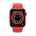 Picture of Apple Watch 6 44mm Red Aluminum Case with Sport Band - Red