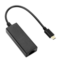 Picture of USB adapter kabl Type-C  to LAN, SPEEDLINK USB-C to Ethernet Adapter HQ, SL-180015-BK
