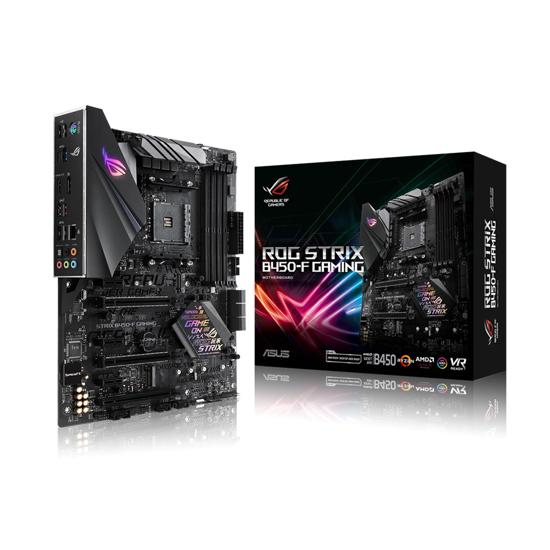 Picture of ASUS ROG STRIX B450-F GAMING AMD 450, AM4, 4xDDR4, HDMI DP, RAID, ATX
