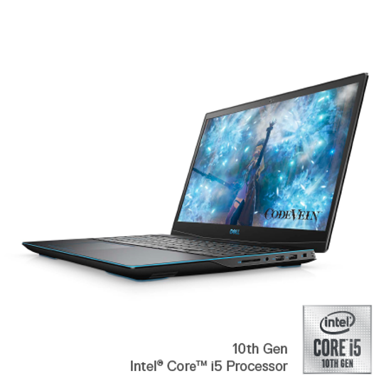 "Picture of DELL Inspiron G3 15 15.6""FHD AG Intel i5 10300H 8GB/512 GB SSD/NVIDIA GF. GTX 1650Ti-4GB/DIG3EB-I5-8G-512-1650TI-56/US Kbd/linux/Black/3y"