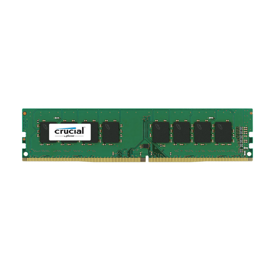 Picture of Memorija Crucial 16GB DDR4 2400 MT/s (PC4-19200) CL17 DR x8 Unbuffered DIMM 288pin CT16G4DFD824A