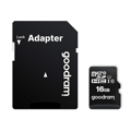 Picture of GOODRAM 16GB MICRO CARD class 10 UHS I + adapter M1AA-0160R12