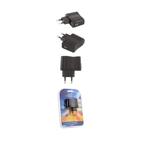 Picture of USB punjac TITANUM USB TRAVEL CHARGER, TZ105