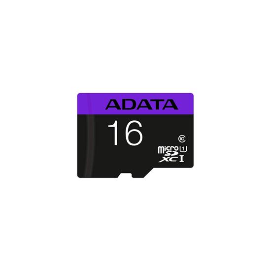 Picture of MICRO SD ADATA 16GB CLASS 10 AUSDH16GUICL10-RA1