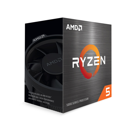 Picture of AMD Ryzen 5 5600X AM4 BOX 6 cores,12 threads,3.7GHz,32MB L3,65W