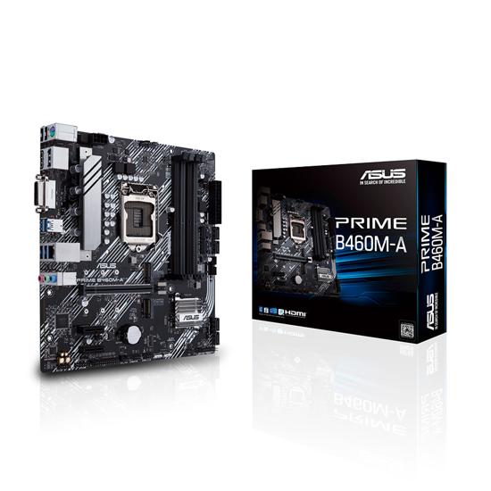Picture of ASUS MB PRIME B460M-A Intel B460;LGA 1200 4xDDR4;DVI,HDMI,DP;RAID;micro ATX