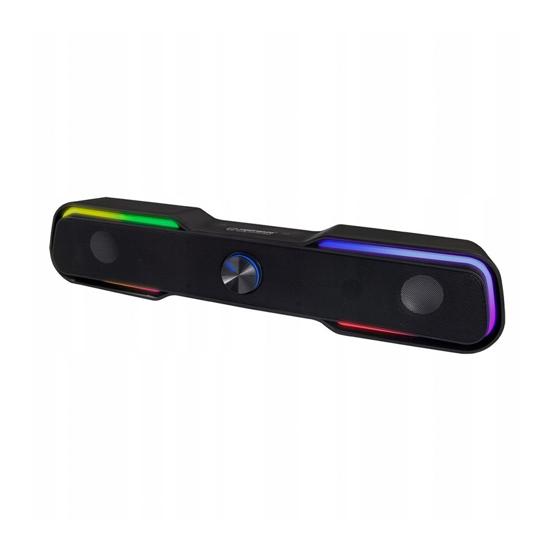 Picture of Zvučnici 2.0 ESPERANZA USB, RAINBOW APALA, EGS101