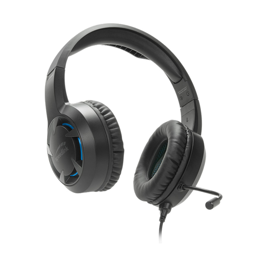 Picture of Slušalice sa mikrofonom SPEEDLINK CASAD PC/PS5/PS4/Xbox/SeriesX/S/Switch, SL-450305-BK