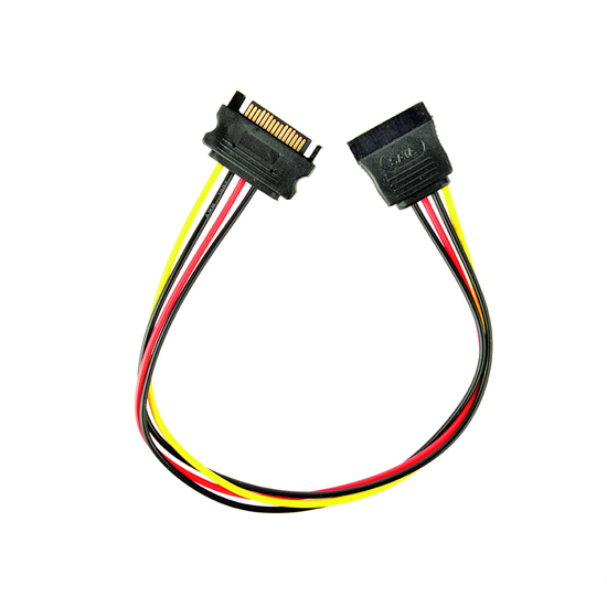 Picture of Kabl napojni interni, power extention cable, 0.3 m, SATA CC-SATAMF-01