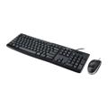 Picture of Tastatura + miš LOGITECH MK200 black, USA layout USB, 920-002693/002694