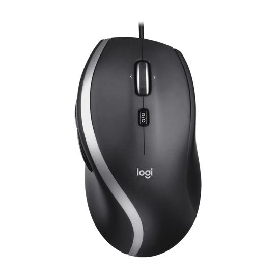 Picture of Miš LOGITECH M500s advanced, USB, Hyper-fast scrolling with tilt, black/gray