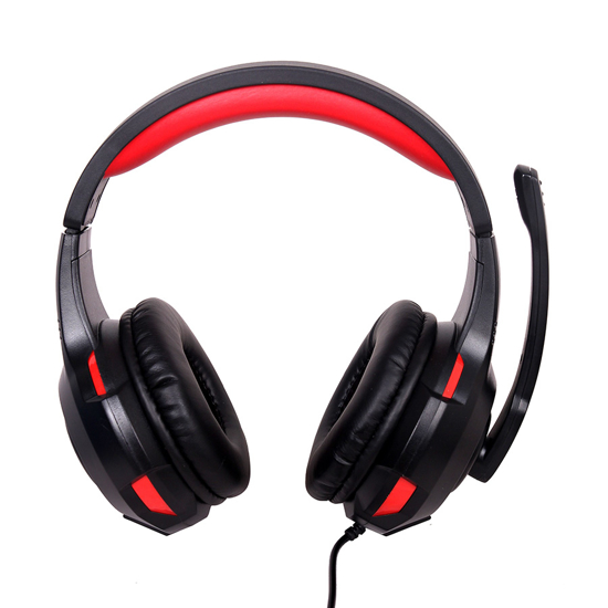 Picture of Slušalice sa mikrofonom GEMBIRD gaming, 5.1 surround USB headset, GHS-U-5.1-01