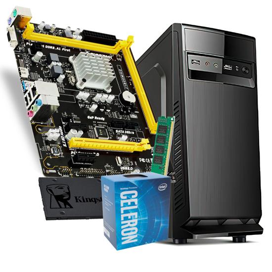 Picture of GNC OFFICE  Intel Celeron J1800 +MB BIOSTAR, 8GB DDR3L-1600, SSD Kingston 240GB, 500w IG-MAX 1607 24 mj.