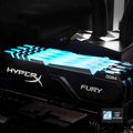 Picture of Kingston DDR4 16GB 3600MHz RGB Hyperx Fury Black HX436C18FB4A/16