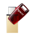 Picture of USB Memory stick Apacer 32GB  USB 3.1 AH180 Dual Flash Drive,Type-C,USB 3.1 AP32GAH180R-1