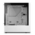 Picture of Kućište SHARKOON gaming, RGB Slider, ATX, 1x120mm fan, white, Tempered Glass